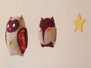 mobiles de créatures de la forêt enchantée Paloma Esono Creations Chambre d'enfantsAccessoires & décorations