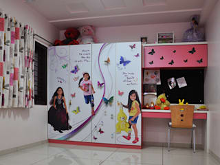 Kids Room Graphics Modern nursery/kids room by BION Creations Pvt. Ltd. Modern