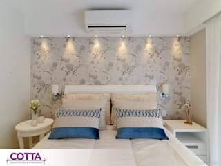 Kamar Tidur Modern Oleh Cotta Arquitetura e Interiores Modern