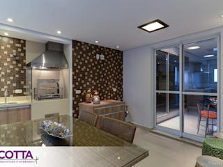 Esszimmer von Cotta Arquitetura e Interiores, Modern