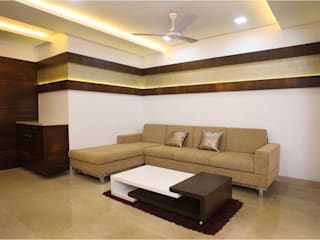 Pali Hill, Bandra:  Living room by suneil
