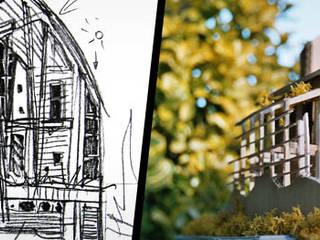 Illustrations:  de style  par atelier espace architectural marc somers