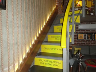 beer  cafe powai:  Bars & clubs by S S Designs