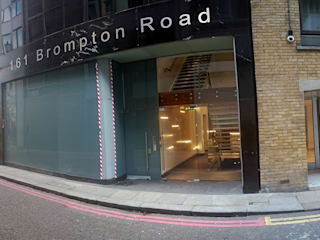 Brompton Road 161 Modern office buildings by Alcantara Stone Corporation Modern