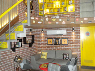beer cafe powai Rustic style bars & clubs by S S Designs Rustic