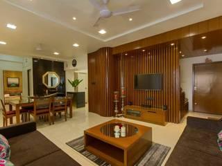 Moderne Wohnzimmer von P & D Associates Modern
