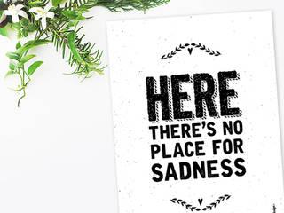 ★ poster ★ no place for sadness ★ por Digo Escandinavo