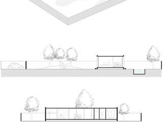 現代  by INÁ Arquitetura, 現代風