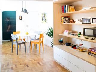 INÁ Arquitetura Comedores de estilo moderno