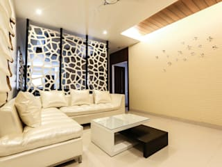 Model Flat Modern living room by Design Cafe Modern
