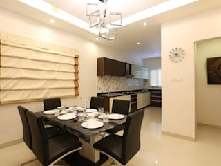 Model Flat Modern dining room by Design Cafe Modern