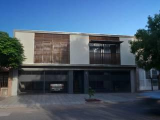 Case in stile  di trama arquitectura, Moderno