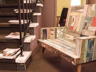 Objetos de diseño y muebles 现代客厅設計點子、靈感 & 圖片 根據 VIVANT LA VIE 現代風