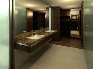 Bathroom by LN-arquitectura