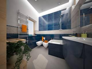 CSA G&P Bagno moderno di Architetto Libero Professionista Moderno