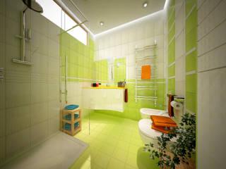 Banheiros modernos por Architetto Libero Professionista Moderno