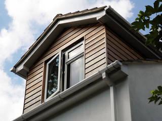 Sandpit Lane Modern windows & doors by Civic Design + Build Modern