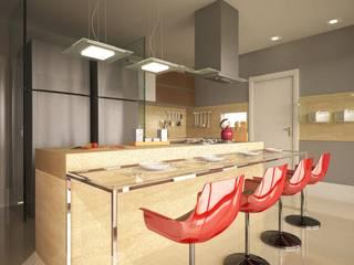 Cocinas de estilo moderno de Renata Matos Arquitetura & Business Moderno