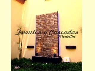 Fuentas de Agua:  de estilo  por Fuentes y Cascadas Medellin, Moderno