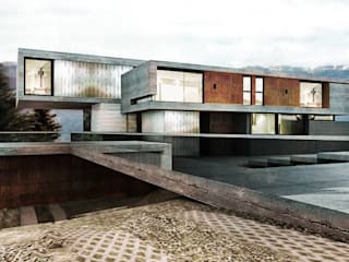 Casa MP Modern Evler Bocco Bentancourt Modern