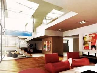 Casa MP Modern Oturma Odası Bocco Bentancourt Modern