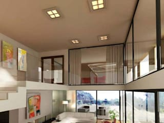 Casa MP Bocco Bentancourt Modern living room
