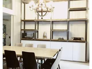 Obra Los Silos Sala da pranzo moderna di MFP Diseño de Interiores Moderno