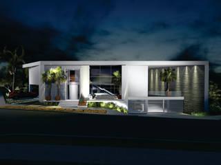Casas de estilo moderno de Renata Matos Arquitetura & Business Moderno