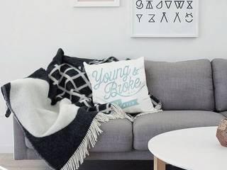 Cojines colecccion 14/15:  de estilo  por Blanco