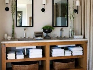 Proyectos de interiorismo varios Baños modernos de estudio 60/75 Moderno