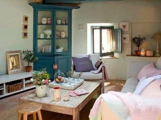 Proyectos de interiorismo varios estudio 60/75 现代客厅設計點子、靈感 & 圖片