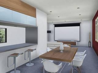 Proyecto Quincho en Las Rosas ARBOL Arquitectos Modern dining room