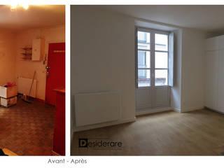 """Studio """"BD"""" à Nantes: Salon de style de style Moderne par DESIDERARE"""