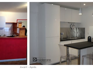 """Studio """"BD"""" à Nantes Cuisine moderne par DESIDERARE Moderne"""