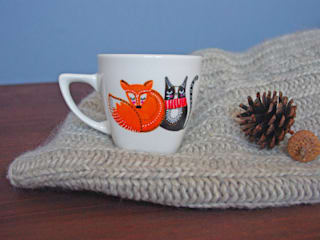 Tasse Renard et Chat - Série Limitée:  de style  par God Save the Teatime