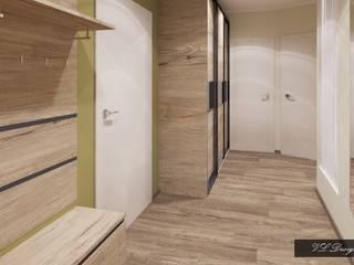 Мягкий лофт Коридор, прихожая и лестница в стиле лофт от vl design interior Лофт