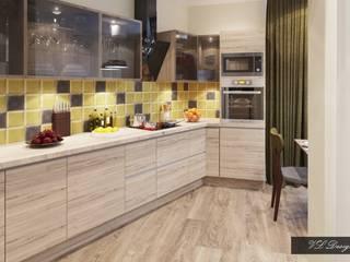 Мягкий лофт Кухня в стиле лофт от vl design interior Лофт