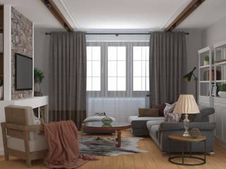 Salas de estilo rural de Brama Architects Rural