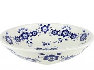 Umywalki nablatowe kuliste z Meksyku Kolory Meksyku ŁazienkaUmywalki Ceramika Biały