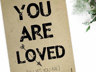 ★ poster ★ you are loved ★ por Digo Escandinavo