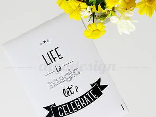 ★ poster ★ let's celebrate ★ por Digo Escandinavo