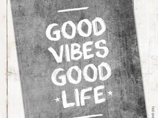 ★ poster ★ good vibes, good life ★ por Digo Escandinavo