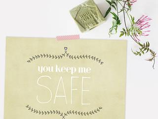 ★ poster ★ you keep me safe ★ por Digo Mediterrânico