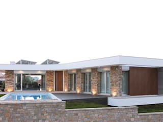 Houses by SOUSA LOPES, arquitectos, Modern
