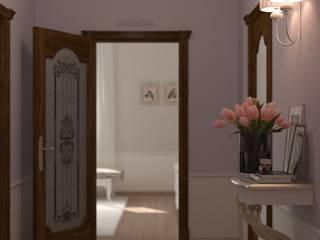 Pasillos, vestíbulos y escaleras de estilo clásico de Brama Architects Clásico