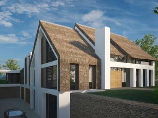 Villa JSPE:  Huizen door 2architecten, Minimalistisch