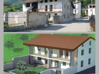 Ristrutturazione fabbricato uso abitazione Casa rurale di Studio Tecnico Treppo Alberto Rurale