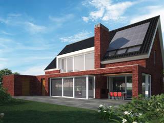 Woonhuis APOR Mierlo :  Huizen door 2architecten, Modern