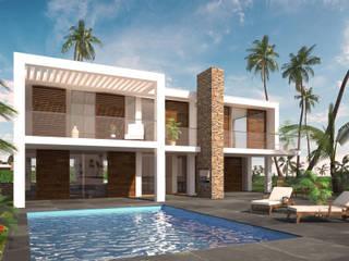 Villa Coco panama :  Huizen door 2architecten, Modern