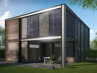 Woonhuis FRAME Eindhoven :  Huizen door 2architecten, Modern
